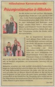 Amtsblatt Artikel KW 02 2014