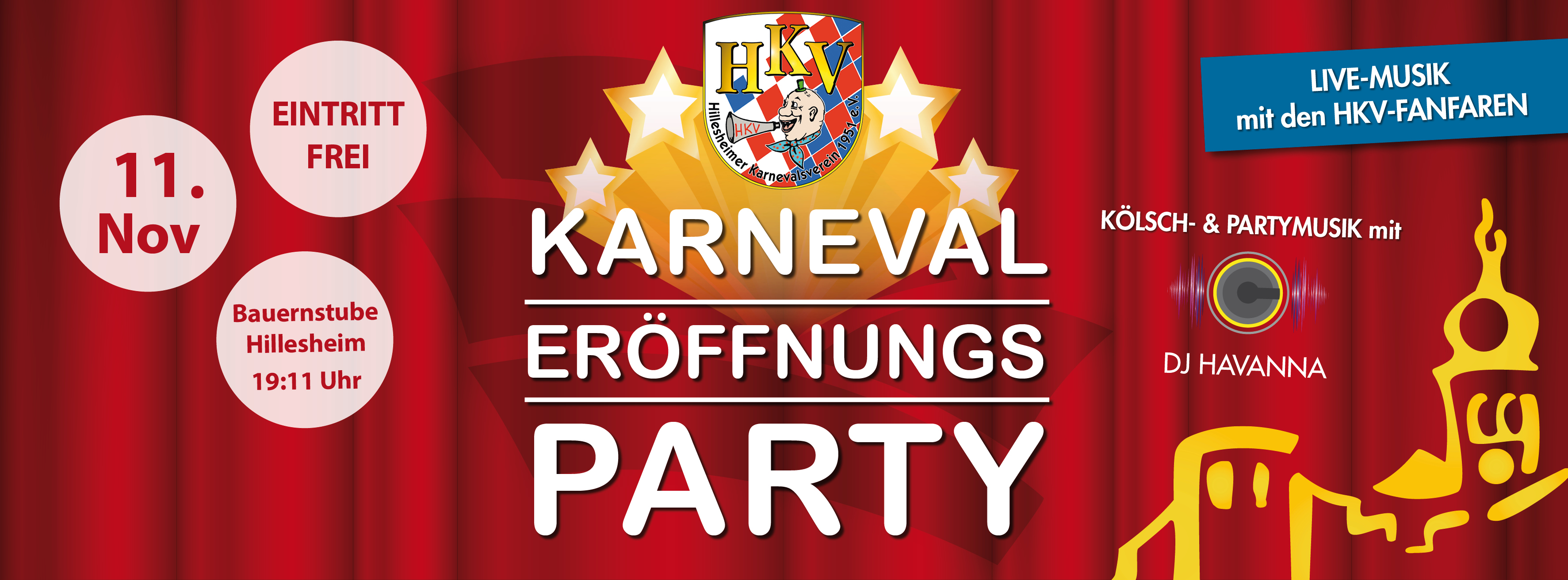 Sessions Eröffnungsparty